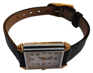 Dior Vintage 1986 Christian Dior Woman's Mechanical Watch Lizard Band