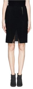 Thakoon Pencil Lace Skirt Black