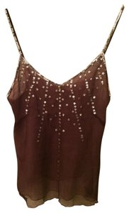 Anthropologie Silk Women Top Dark purple