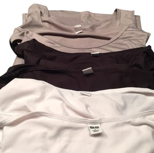 Uniqlo Mens Shirts Top White, Black, Grey