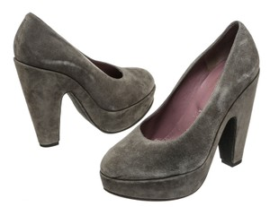 Robert Clergerie Gray Pumps