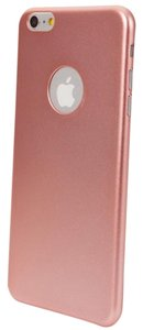 Sleek Rose Gold iPhone 6 Plus/6S Plus Protective Case + Screen Protector