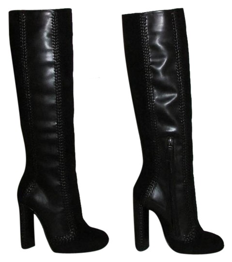 Preload https://img-static.tradesy.com/item/19510008/tom-ford-black-leather-suede-knee-high-bootsbooties-size-us-6-0-1-540-540.jpg