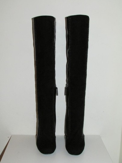 Tom Ford Black Leather Suede Boots Image 7