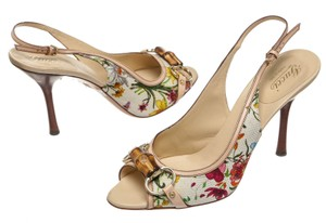 Gucci Ivory/Multicolor Pumps