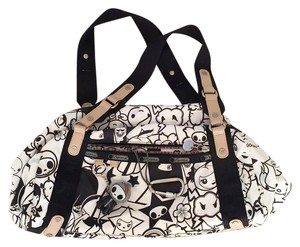 LeSportsac Tote in Black And White