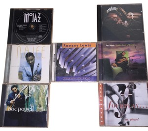 Other Contemporary Jazz 7- CD Set; Earl Klugh, FourPlay, Ramsey Lewis, Doc Powell, Najee, Wayman Tisdale, Impromp2 [ SisterSoul Closet ]