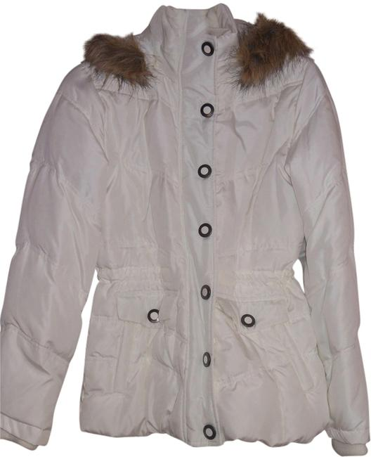 New York & Company Puffer Jacket Hooded Size Small Coat