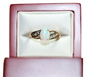 Other 10K OPAL RING, SIZE 5.75
