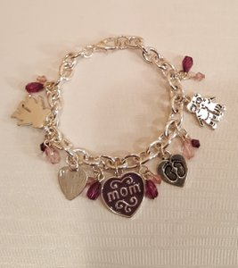 Other Mom Charm Bracelet Silver plated