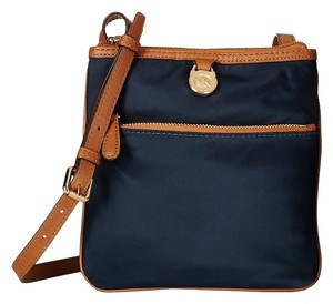 eb368a55a53d60 Added to Shopping Bag. Michael Kors Cross Body Bag. Michael Kors Kempton  Small Pocket Purse Navy Nylon ...