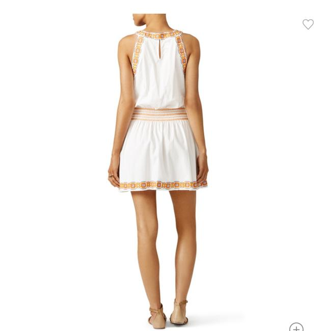 Tory Burch short dress New Ivory White Oxford Embroidered Smock Dryclean Only on Tradesy Image 4