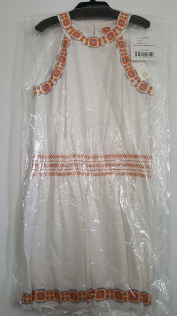 Tory Burch short dress New Ivory White Oxford Embroidered Smock Dryclean Only on Tradesy Image 8