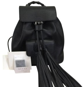 Gucci Soldout Bamboo Backpack