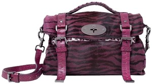 Mulberry Satchel in Plum