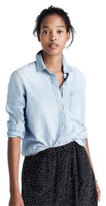 Madewell Button Down Shirt Chambray
