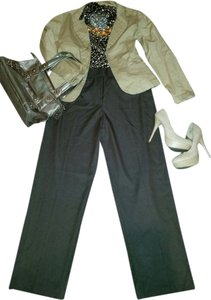 Cato Wide Leg Pants Brown