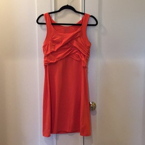 Athleta short dress Tangerine on Tradesy