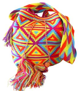 Wayuu Tribe Hand Made Boho Coachella Cross Body Bag
