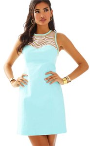 Lilly Pulitzer Shift Beaded Spring Dress