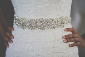 High Quality Bridal Sash, New Bridal Belt With Crystals