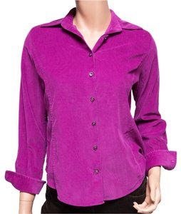 Façonnable Thin French Button Down Shirt Pink