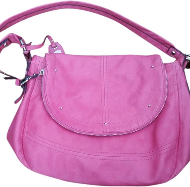 Item - Cynthia Glove Convertible - A219010 Pink Leather Messenger Bag