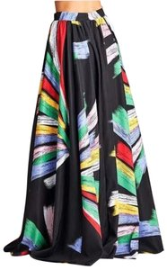 Rubber Ducky Productions, Inc. Maxi Formal Maxi Skirt Multi