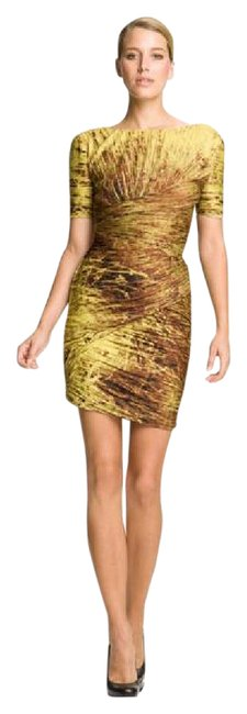 Halston Special Occasion Date Night Knee Length Petite Dress Image 2