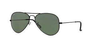Ray-Ban RB 3025 L2823 BLACK RAY BAN AVIATOR - FREE 3 DAY SHIPPING