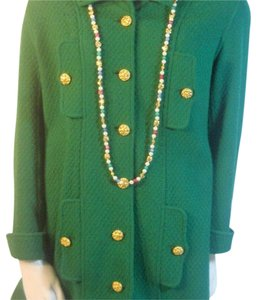 Chanel Kelly Green Blazer