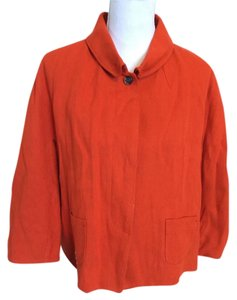 Piazza Sempione Orange Blazer