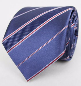Gucci Gucci Men's Blue Silk Neck Tie With Diagonal Stripes 351806 4574