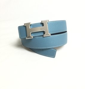 Hermès HERMES REVERSIBLE GROOVED H BELT KIT