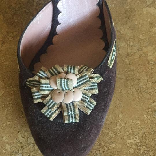 Moschino Brown Suede Pumps Image 2