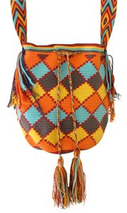 Wayuu Tribe Hand Made Boho Coachella Festival Chic Cross Body Bag