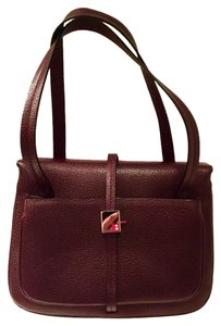 Bally Satchel in Mahogany Brown