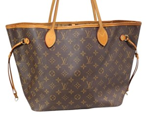 Louis Vuitton Purse Shopper Tote in Brown Monogram