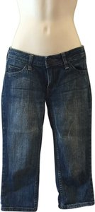 Arizona Jean Company Capris Blue
