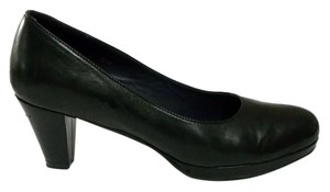 Vaneli Platform Laurice Nappa Leather Size 7.5 Black Pumps