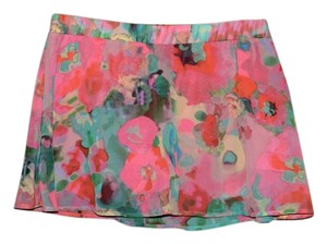 BB Dakota Mini Skirt Pink Floral