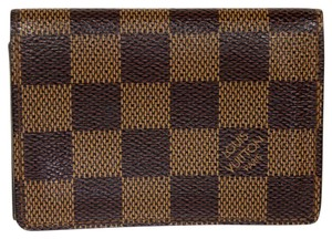 Louis Vuitton Louis Vuitton Damier Ebene Enveloppe Cartes De Visite Card Case