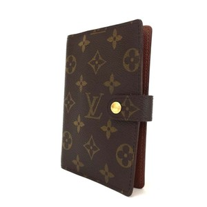 Louis Vuitton Monogram Luxury Agenda PM Notebook Cover with LV Note Insert