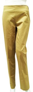 Michael Kors Cotton Straight Pants Sand Stone