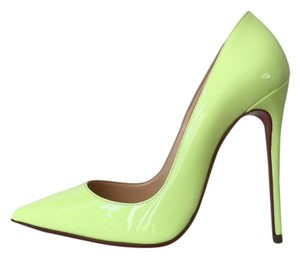 Christian Louboutin So Kate Shocking Neon Yellow Pumps