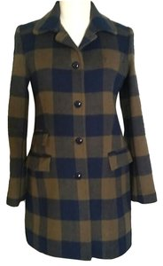 J.Crew Jacket Plaid Coat