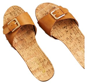 Restricted Taupe Sandals