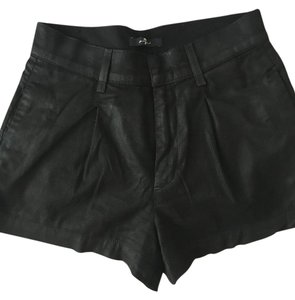 7 For All Mankind Dress Shorts Black