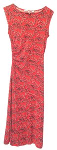 Diane von Furstenberg Silk Sheath Vintage Dress