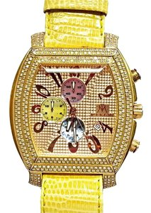 iceman ICEMAN Gold Tone Diamond Watch